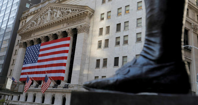 NYSE Wall Street Mercados EUA