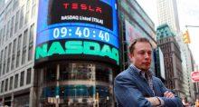 Nasdaq Tesla TSLA Elon Musk