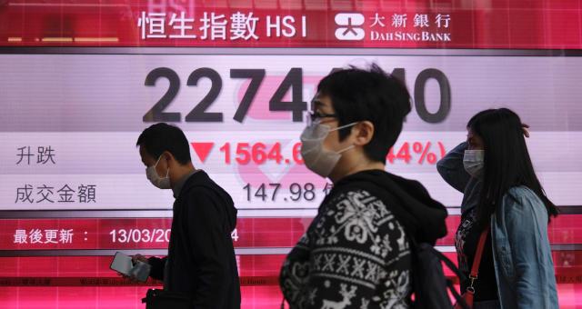 Mercados Ações Hong Kong