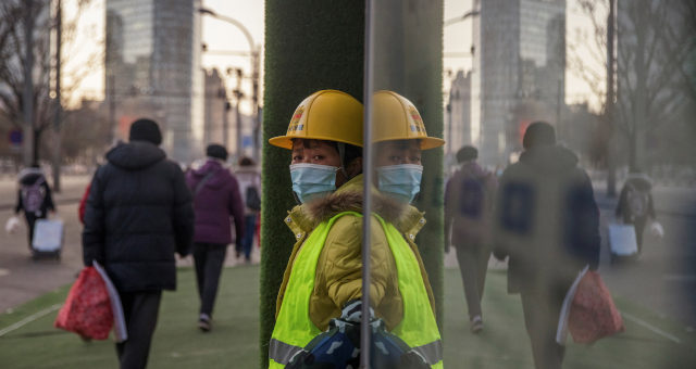 China Construção Civil Coronavírus
