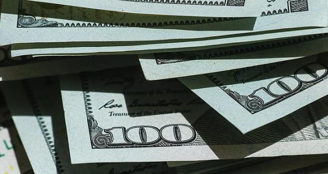 Dinheiro, Dòlar, Câmbio
