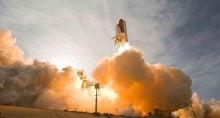 Nasa, lançamento de ônibus espacial, foguete, alta, disparada, valorização