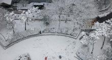 Neve em Seul