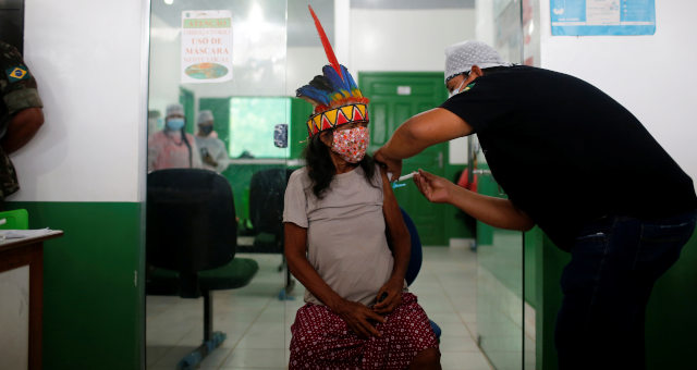 Amazonas, vacinas