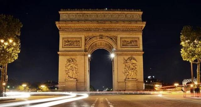 Arco do triunfo, champs