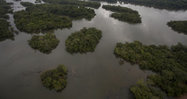 Área do rio Xingu