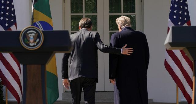 Bolsonaro, Trump
