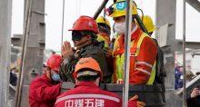 China, Acidente, Mina de Ouro