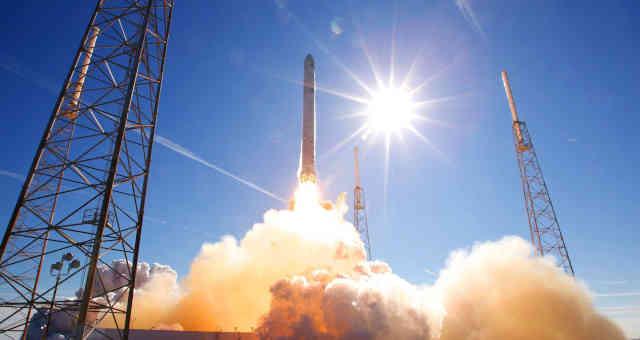 Lançamento de foguete da SpaceX