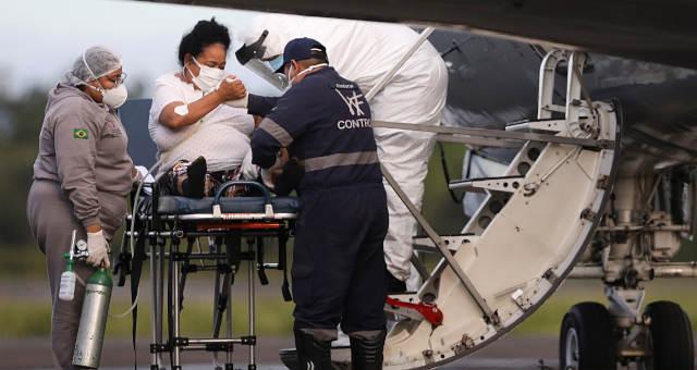 Refém da Covid-19, Amazonas recebe respiradores e oxigênio de Exército e  Venezuela – Money Times
