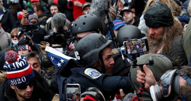 Manifestação em capitólio