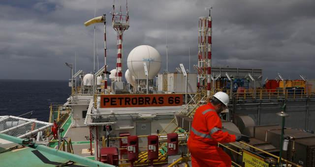 Plataforma da Petrobras, RJ