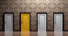 portas, opções, ecolha, alternativas, dúvida, adivinhar