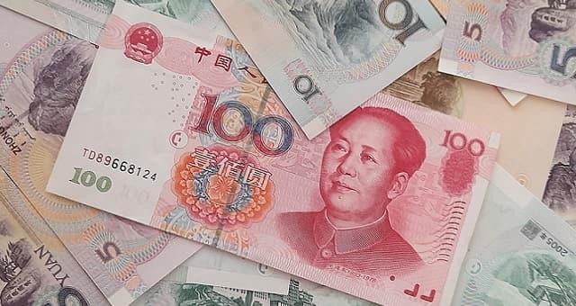 Yuan, Dinheiro, China