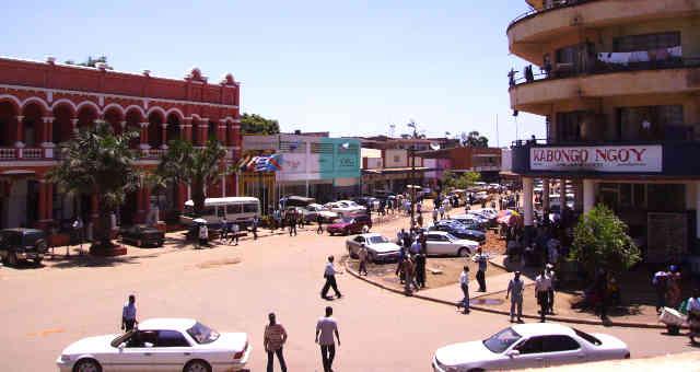 Lubumbashi, segunda maior cidade do Congo e polo de mineração e siderurgia
