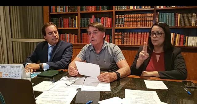 Jair Bolsonaro, Live