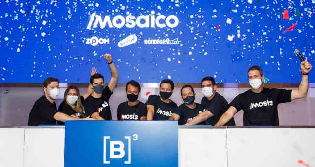 Mosaico estreia na B3