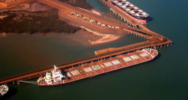 Australia, Minério de Ferro