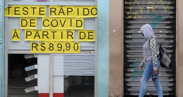 Comércio fechado em São Paulo em meio a pandemia de Covid-19