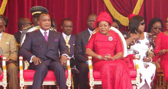 Denis Sassou Nguesso, presidente da República do Congo