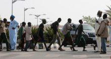 Estudantes libertados pelas forças de segurança da Nigéria em Katsina