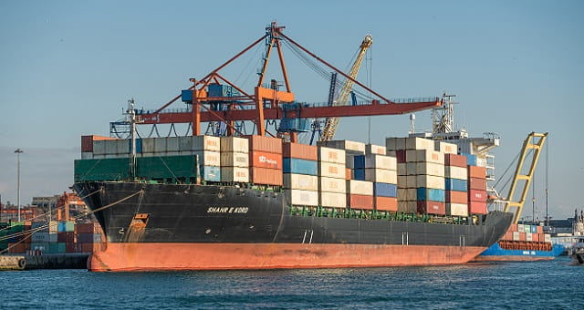Navio porta-contêineres Shahr e Kord