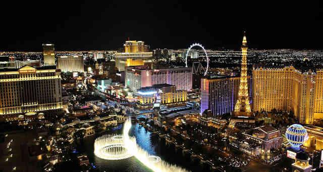 Cidade de Las Vegas, nos EUA