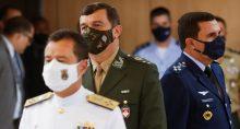 Novos comandantes das Forças Armadas, em Brasília