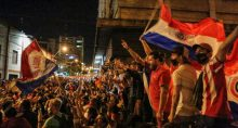 Protesto em Paraguai
