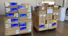 Respiradores doados por empresas chinesas ao Distrito Federal