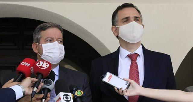 Rodrigo Pacheco e Arthur Lira