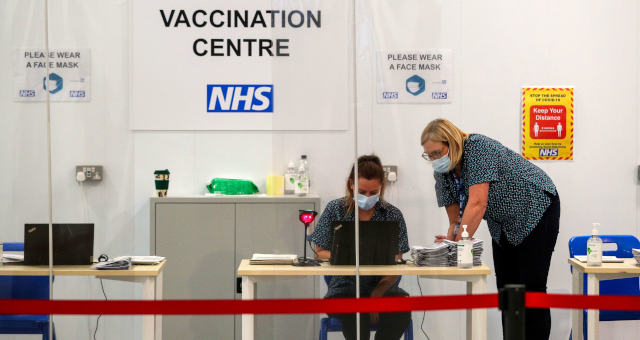 Vacinação Reino Unido