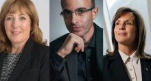 Jean Case, Fiona Reynolds e Yuval Harari Expert ESG