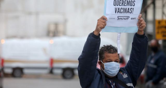 Coronavírus Máscara Protesto