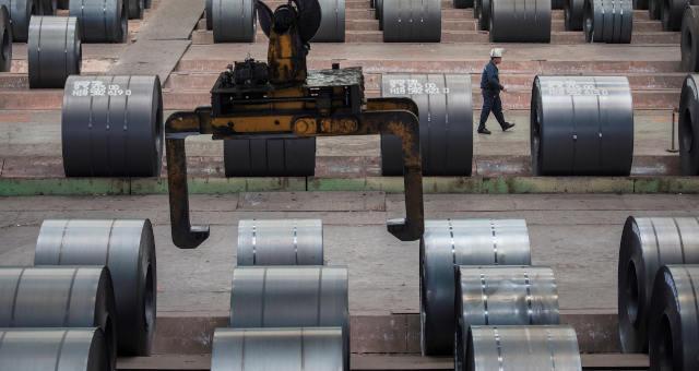 Bobinas de aço na China