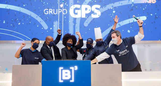 Estreia do Grupo GPS na B3, em 26 de abril de 2021