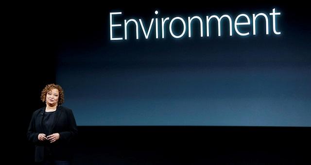 Lisa Jackson, vice-presidente da Apple para assuntos sociais e de clima