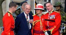 Príncipe Philip, duque de Edimburgo e marido da rainha Elizabeth