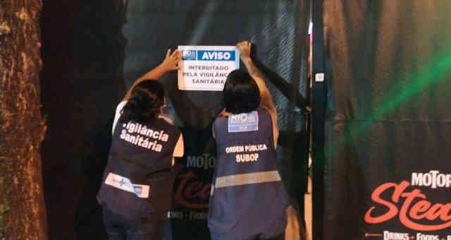 Vigilância Sanitária do Rio fecha bar que desrespeitou regras da pandemia de Covid-19