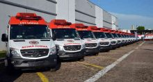 Ambulâncias do Samu do Distrito Federal