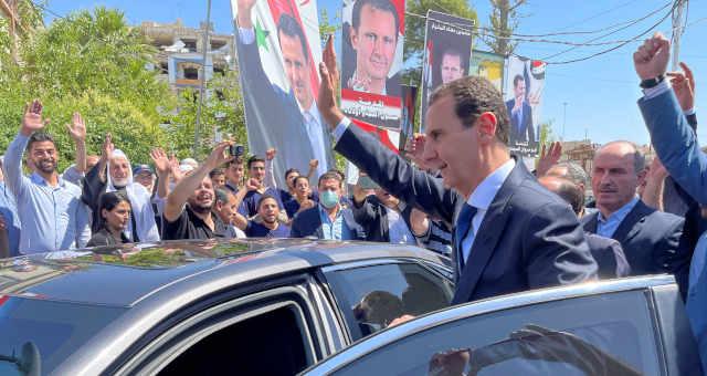Presidente sírio, Bashar al-Assad 26/05/2021 REUTERS/Kinda Makieh