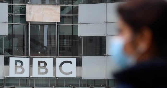 Prédio da BBC em Londres 21/05/2021 REUTERS/Toby Melville