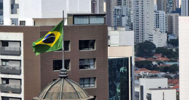 Bandeira do Brasil São Paulo