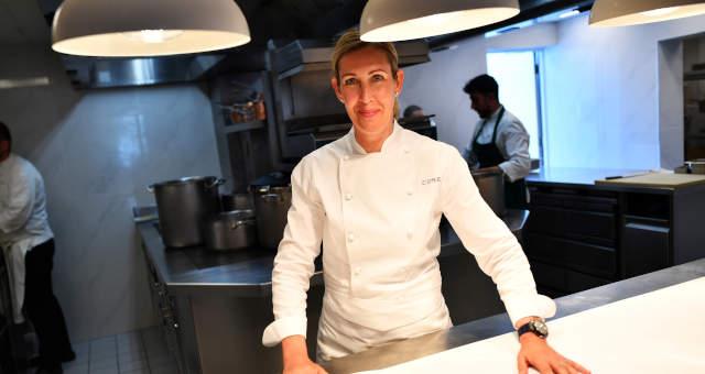 Chef britânica Clare Smyth