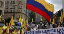 Colombia, Greve