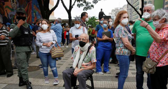 Covid-19 em Caracas