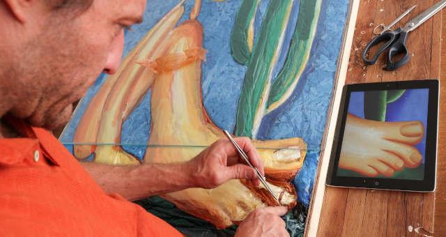 Eduardo Srur, Artista Plástico