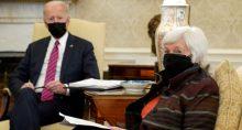Janet Yellen e Joe Biden
