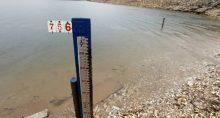 Medição de nivel de água