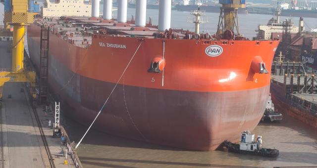 Primeiro navio mineraleiro do mundo